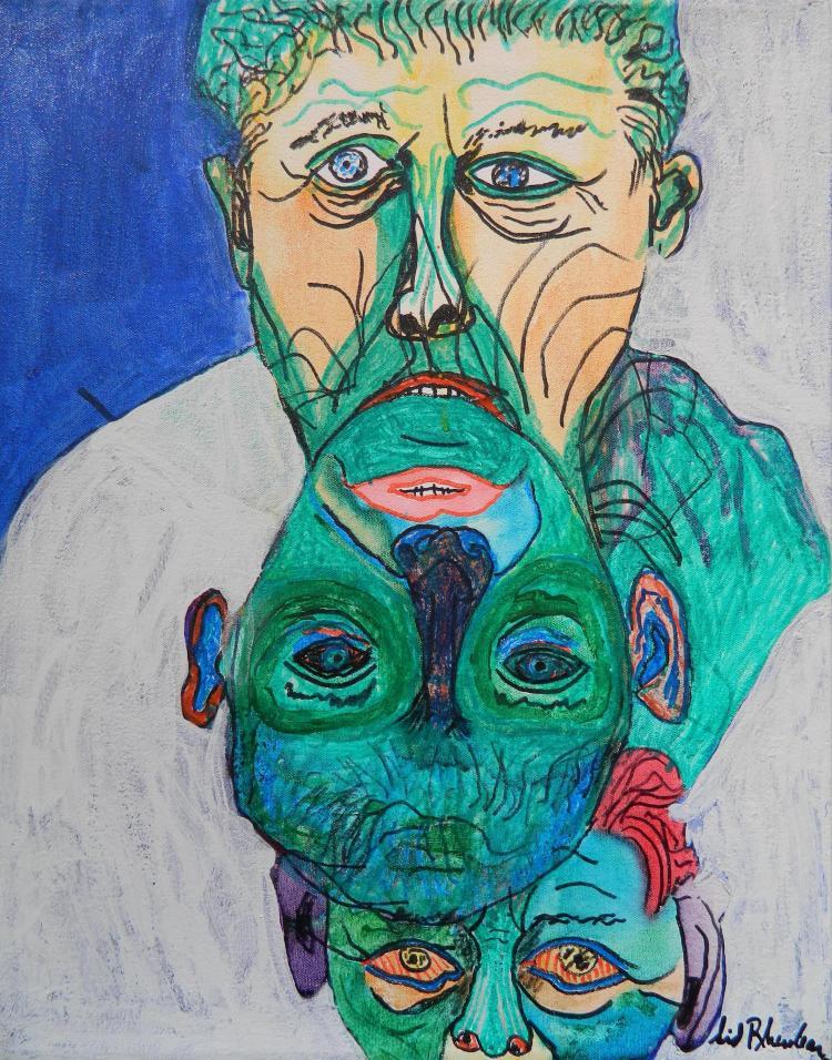 Sid Rheuban acrylic
