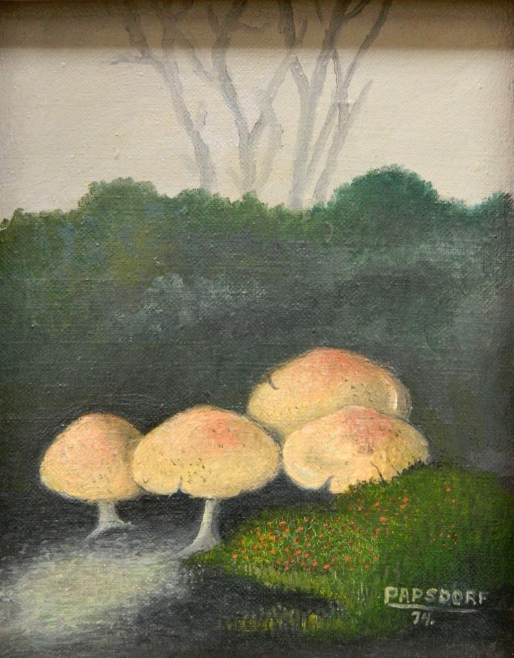 Frederick Papsdorf oil