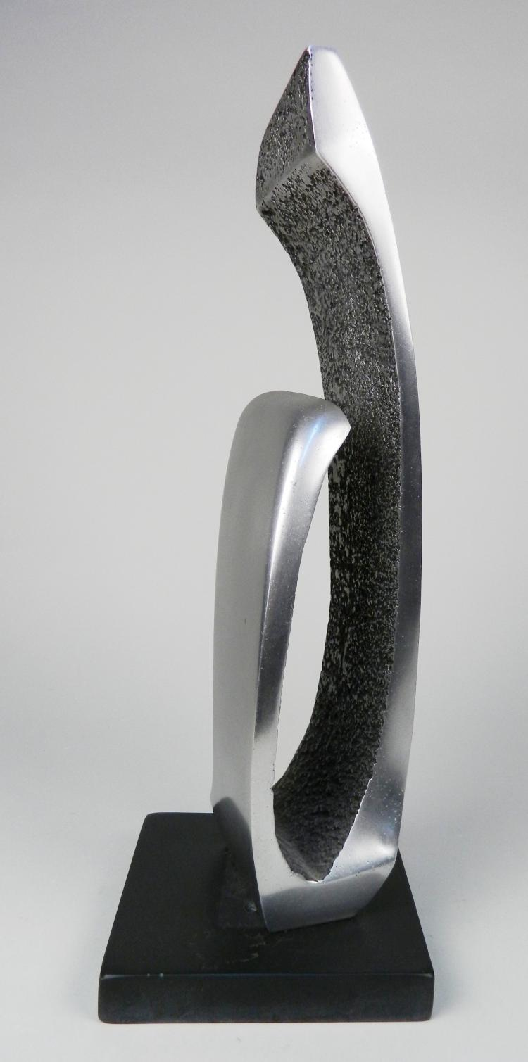 James Myford aluminum sculpture