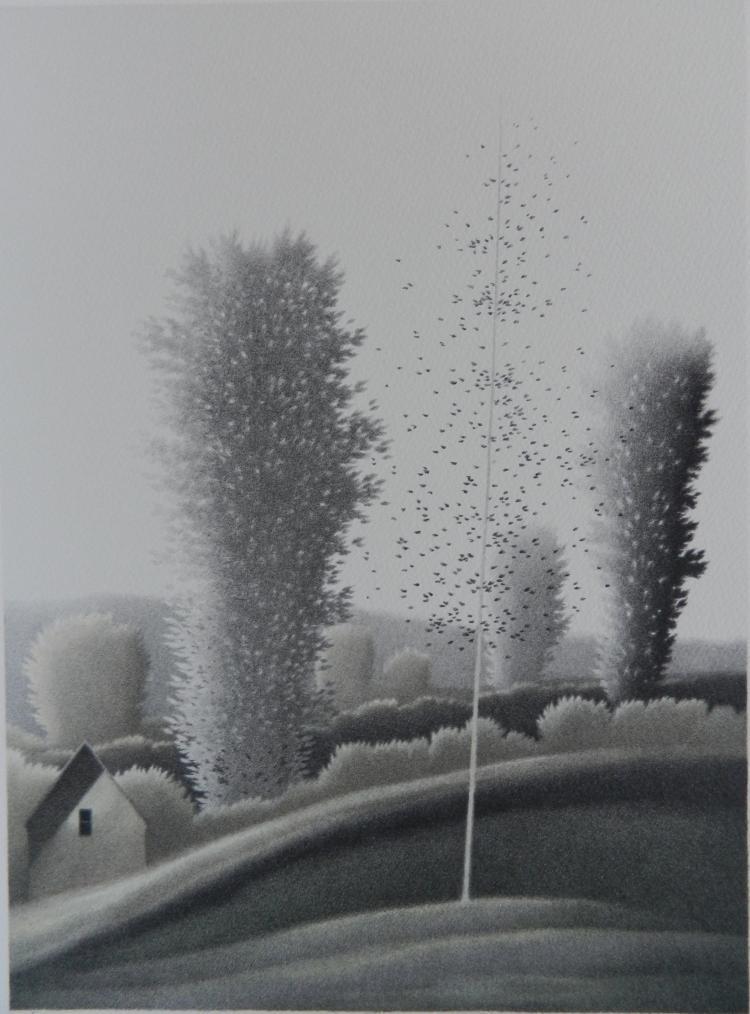 Robert Kipniss lithograph