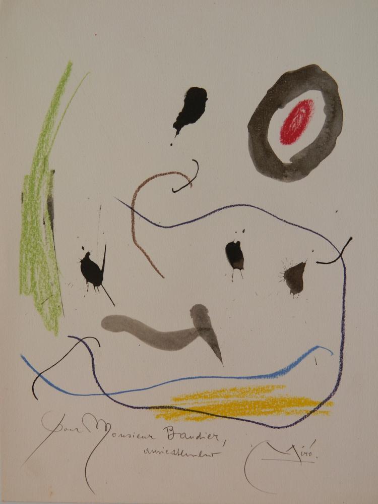 Joan Miro etching