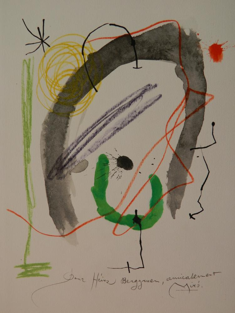 Joan Miro etching