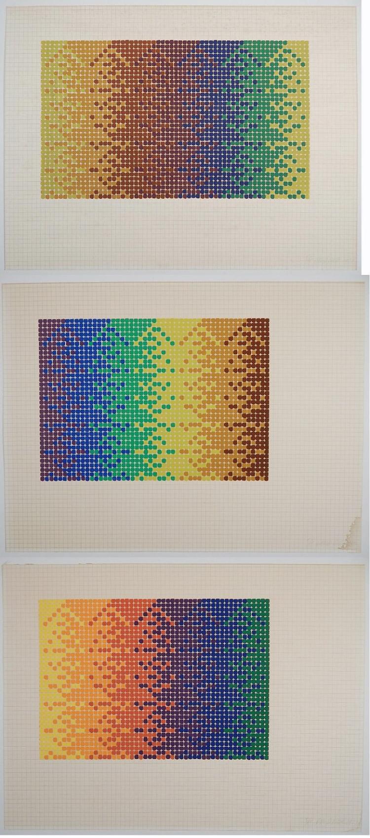 David Roth silkscreens
