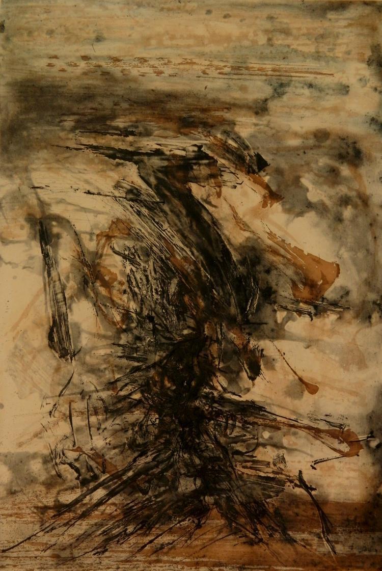 Zao Wou-Ki lithograph