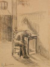 Maximilien Luce graphite