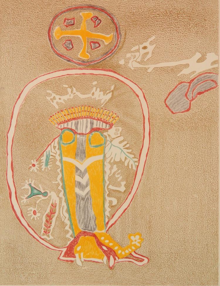 Lala Eve Rivol lithograph