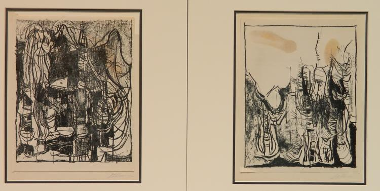 George Stillman 2 lithographs