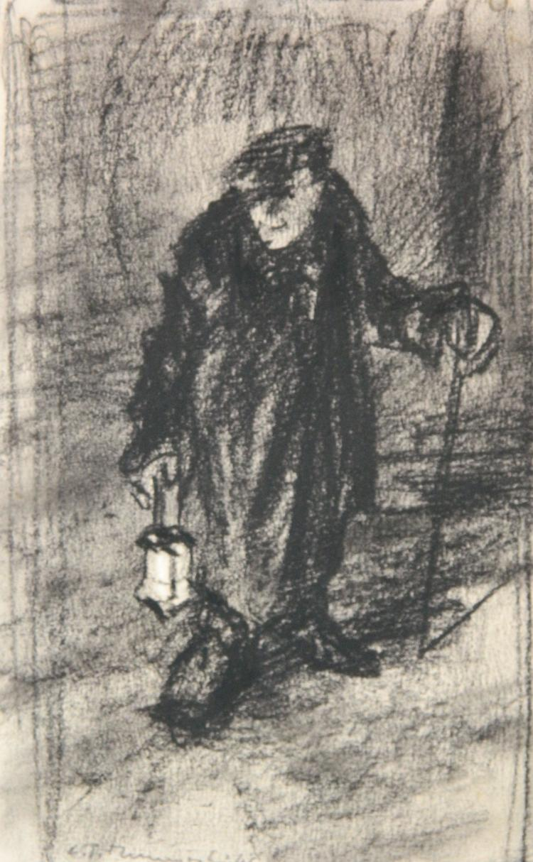 Leszek T. Muszynski charcoal