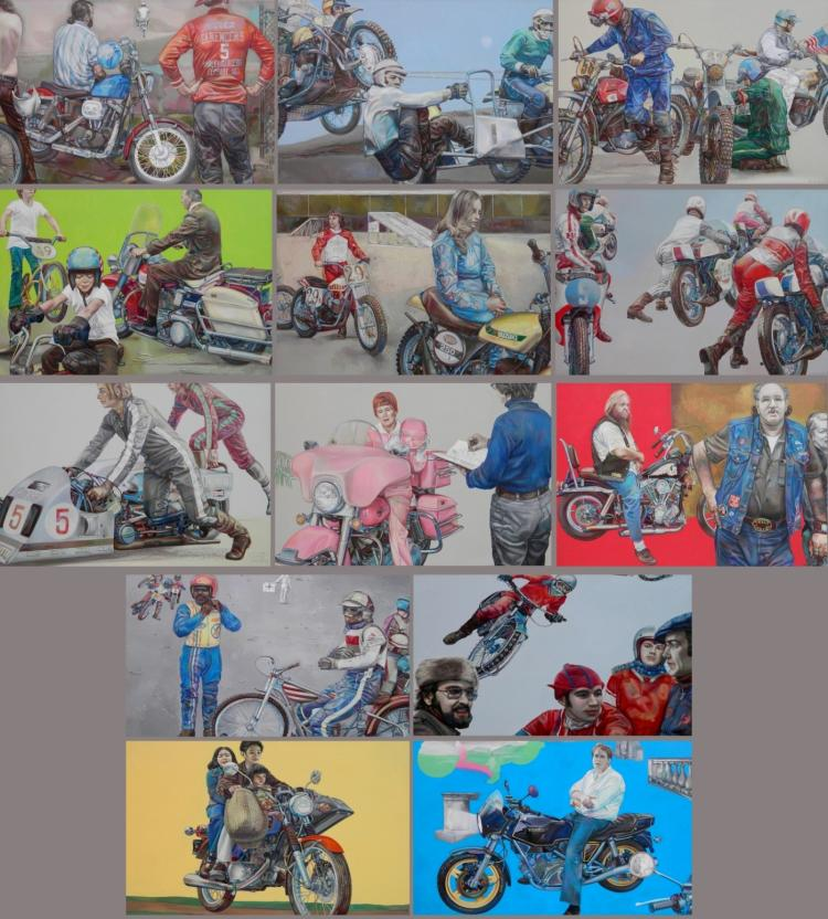 Shirley A. Campbell- The Motorcycle Series