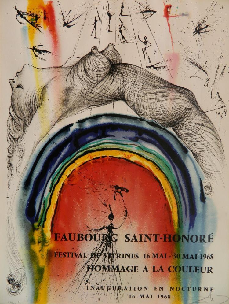 Salvador Dali silkscreen