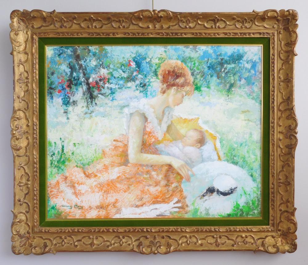 Marguerite Aers oil