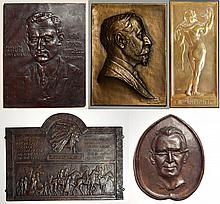 5 Relief plaques and medallions