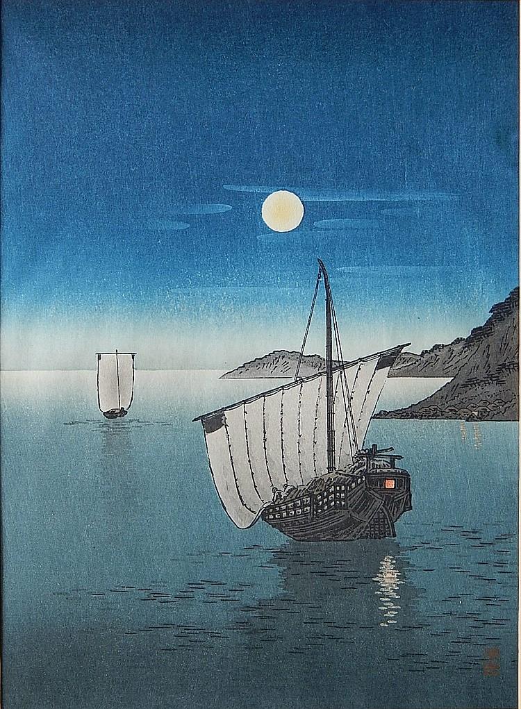Yoshimune Arai woodblock