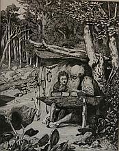 Max Klinger etching