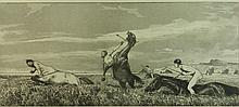 Max Klinger etching and aquatint