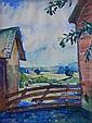 Hans Volck watercolor, Hans H. Volck, Click for value