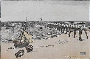 Siegfried Berndt woodcut