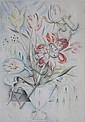 Mily Possoz drypoint and roulette in colors, Milly Possoz, Click for value