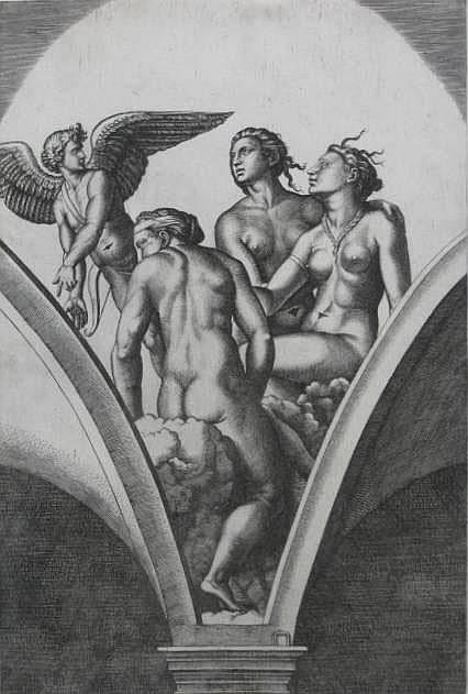 Marcantonio Raimondi engraving