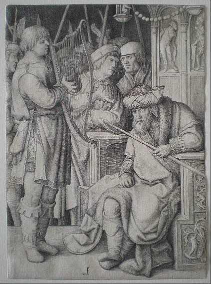 Lucas Van Leyden etching