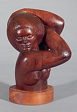 James House wood sculpture
