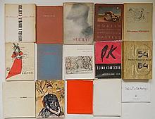 14 Exhibition catalogs on European art
