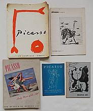 5 Exhibition catalog on Pablo Picasso