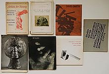 7 Exhibition catalogs on sculpture