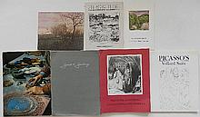 7 Exhibition catalogs on various artists