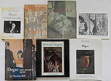 7 Books and exhibition catalogs on Edgar Degas