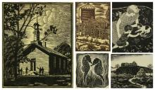 5 American prints