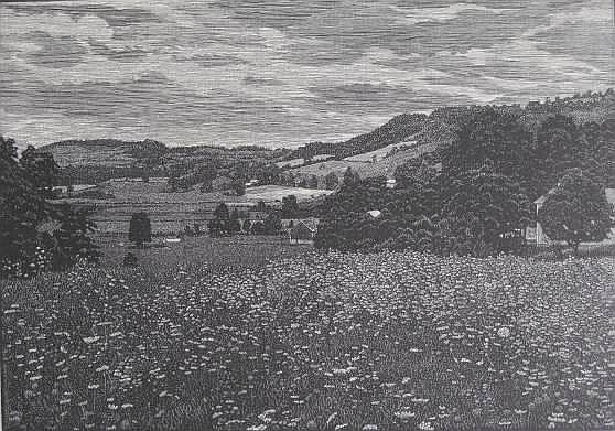 Warren Mack wood engraving
