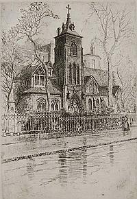 Charles Mielatz etching