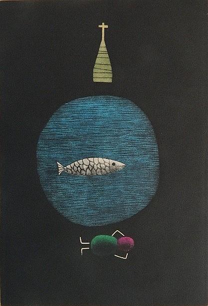 Tomoe Yokoi mezzotint