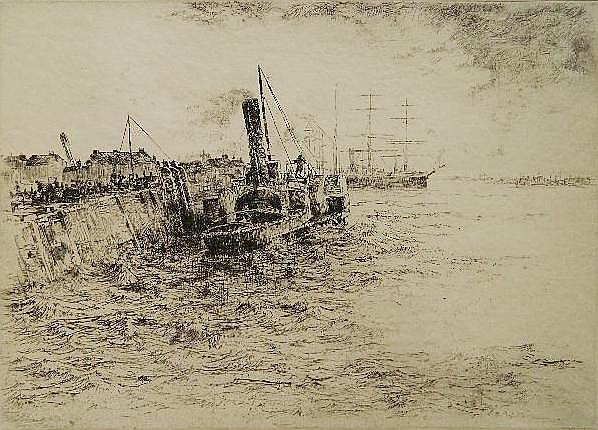 Sidney MacKenzie Litten etching