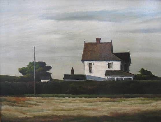 Raphael Gleitsmann (American 1910-1995)- ''House