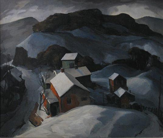 Carl Gaertner (American 1898-1952)- ''Winter at