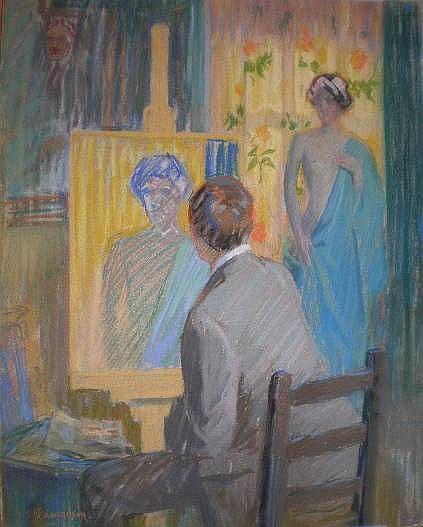 William J. Edmondson (American 1868-1966)- In The