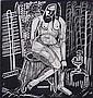 Clara L. Deike (American 1881-1964)- ''Nude I''-, Clara L Deike, Click for value