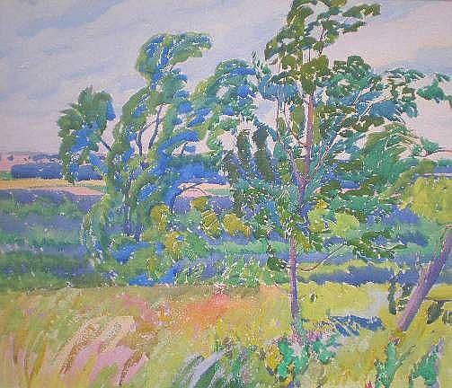 Grace V. Kelly (American 1877-1950)- Summer