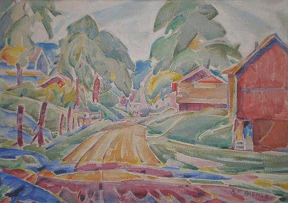 August F. Biehle (American 1885-1979)- ''Near