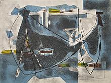 Sigismond Kolos-Vary etching and aquatint