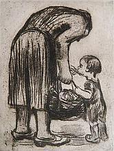 Kathe Kollwitz etching