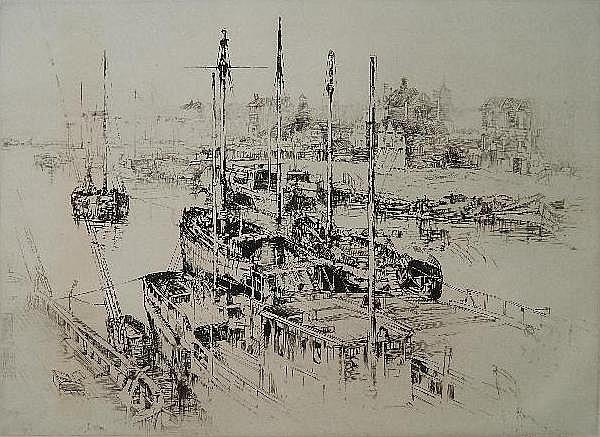 Sydney M. Litten etching