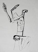 Oswaldo Guayasamin silkscreen