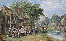 John Edmund Buckley watercolor and gouache