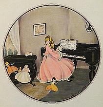 Alice Pauline Schafer watercolor