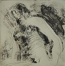 Henry Moore etching
