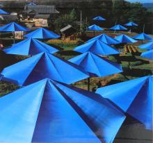 Christo- The Umbrellas Japan - USA