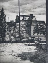 Samuel L. Margolies drypoint